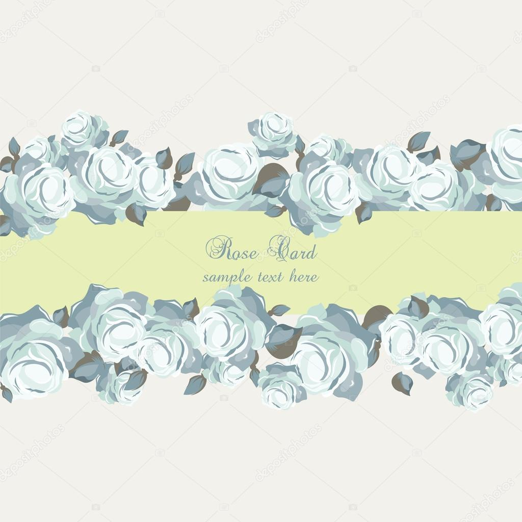 Vector roses vintage invitation card vetores de stock inagraur vector roses vintage invitation card vetores de stock stopboris Choice Image