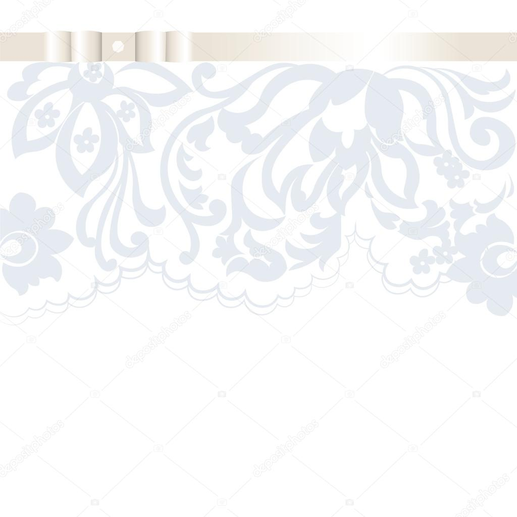 Vector wedding invitation card with lace floral ornament vetores vector wedding invitation card with lace floral ornament vetores de stock stopboris Image collections