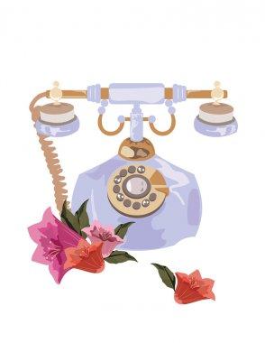 Antique Style Retro phone