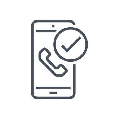 Received phone call icon