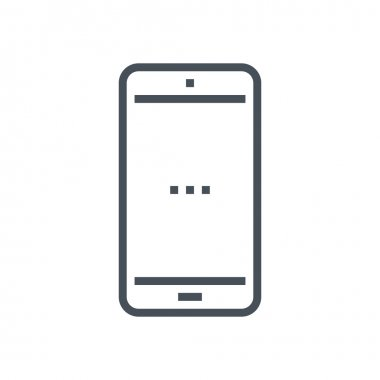 Cell phone, mobile phone icon