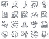 Photo Business icon set