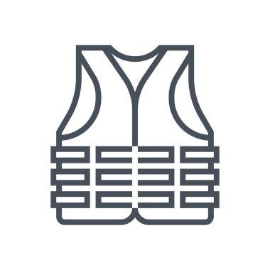Life vest icon