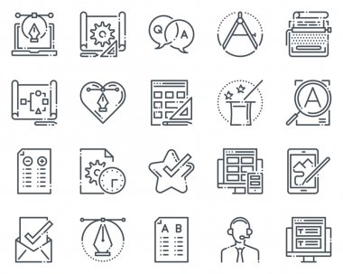 Design icon set