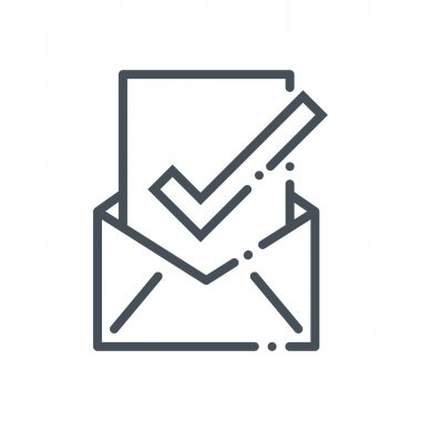 Inbox, receive mail icon