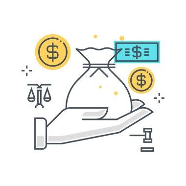 Inheritance law, icon