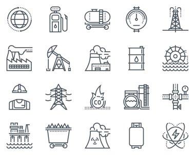 Energy industry icon