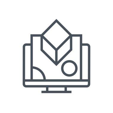 Digital graphics icon