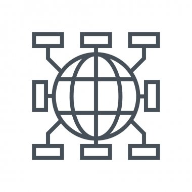 Distribution channels icon