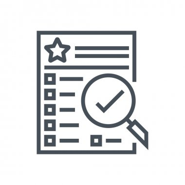Features list icon
