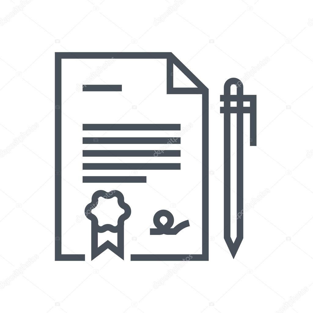 Legal Documents icon — Stock Vector © Howcolour #96274330