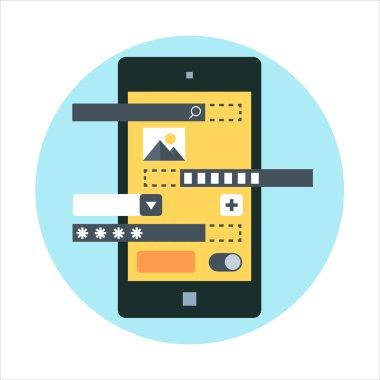 Application development theme icon