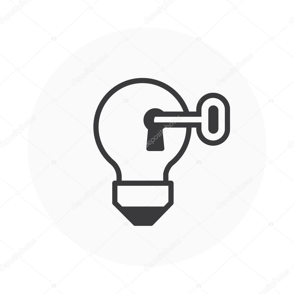 La Cle Du Succes Idee Icone Image Vectorielle Howcolour