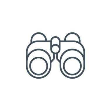Binoculars theme icon