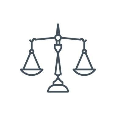 Law, balance icon