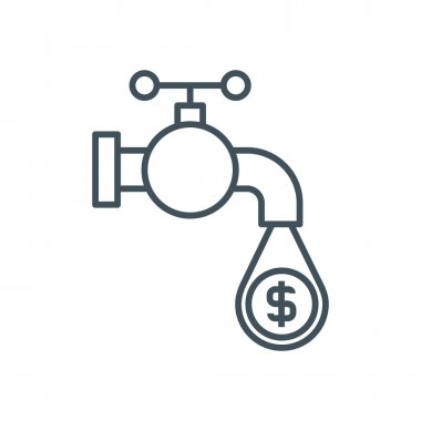 Money flow icon