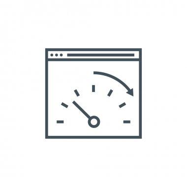 Speed optimisation icon