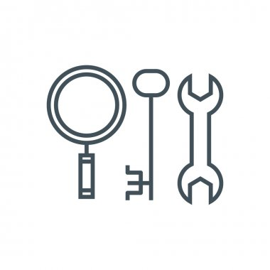 Search engine optimisation tools icon