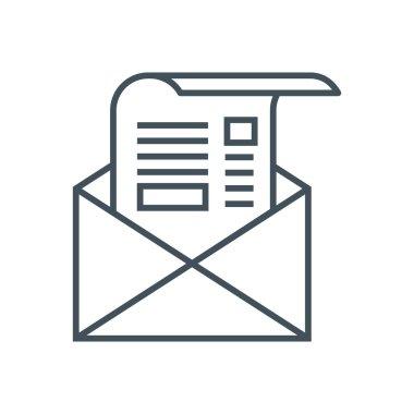 Newsletter theme icon