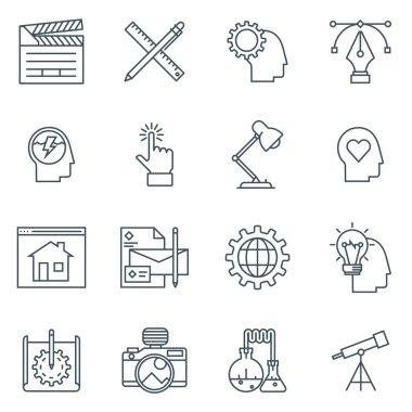 Design and  development icon set