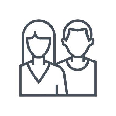 Couple theme icon