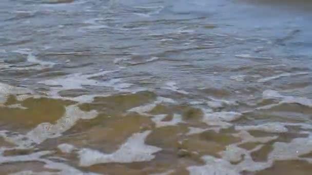 Foamy Sea Water