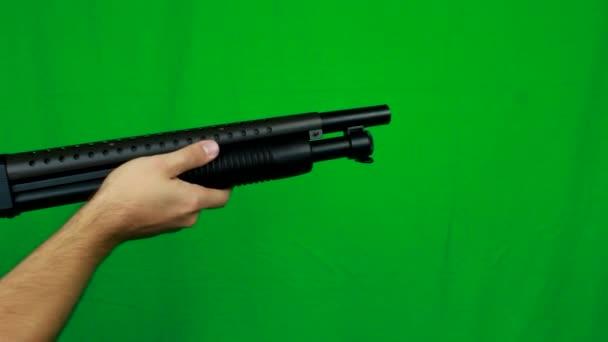 Húzza ki balra shotgun