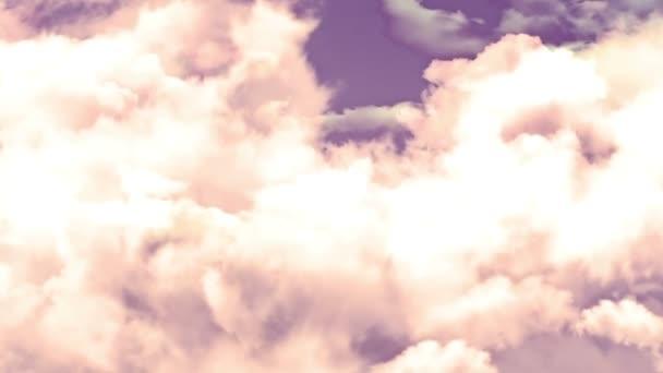 Fény ég felhők