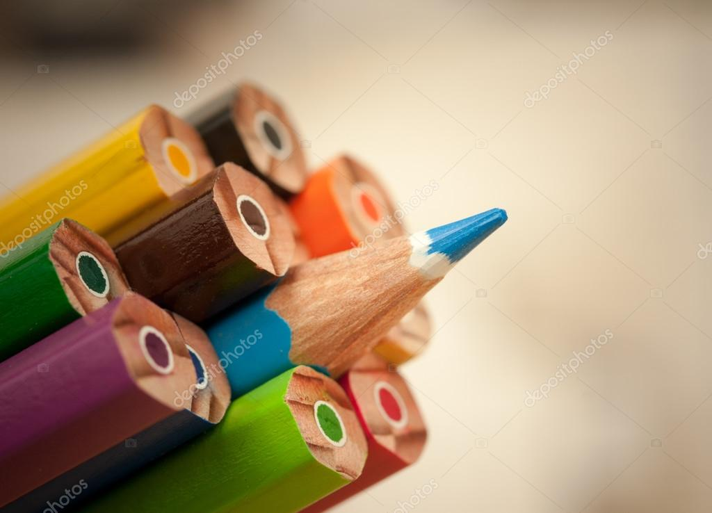 Pencils with a single sharp one