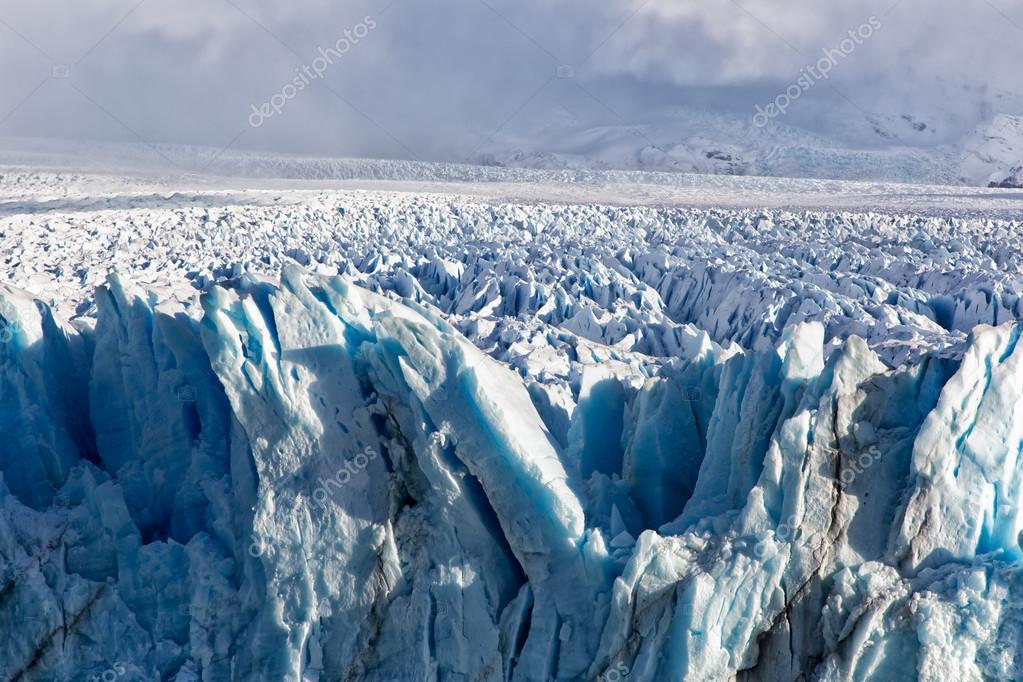 Фотообои Голубой лед ледника Перито-Морено