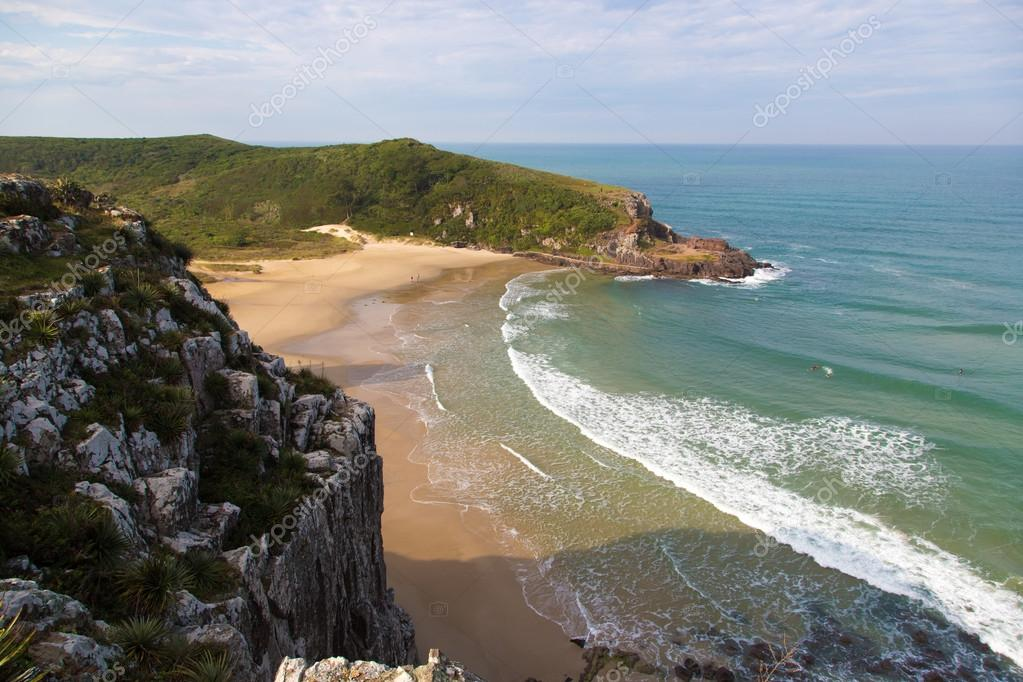 Beautiful beach around Paraty
