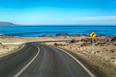 Roads in Bahia Inglesa