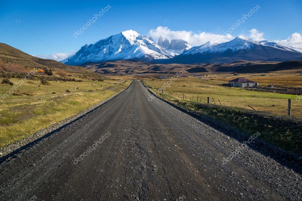 Beautiful landscape in Torres del Paine