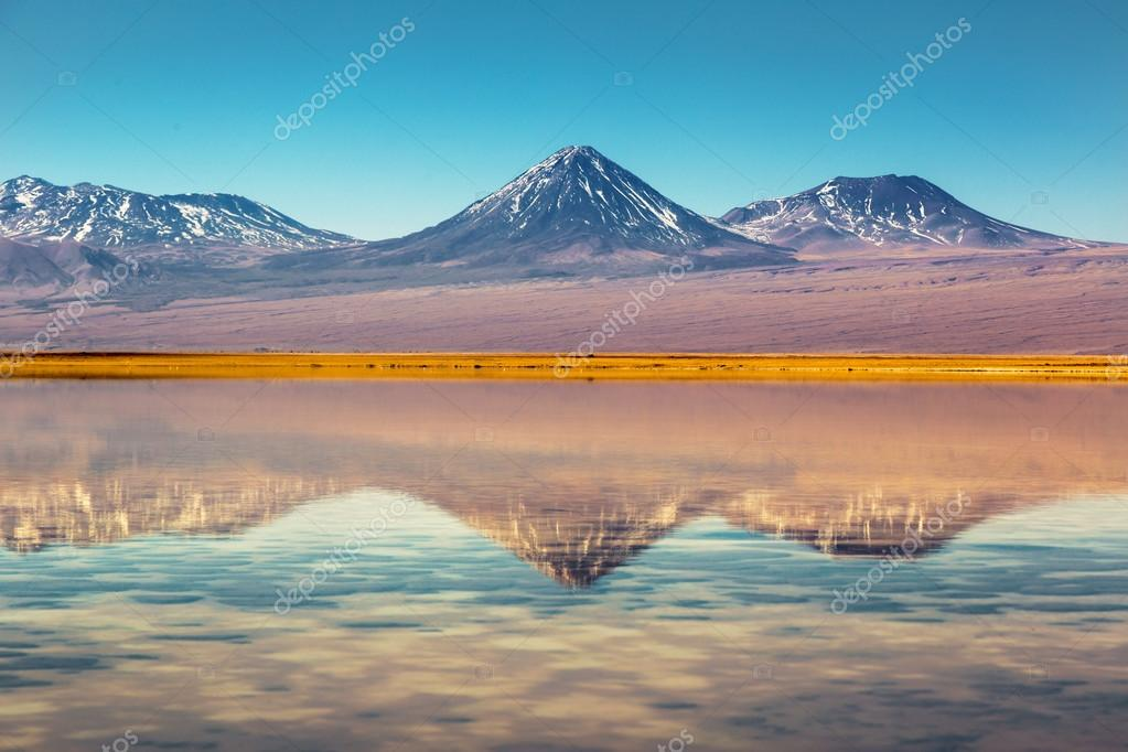 Beautiful scenario in Atacama Desert
