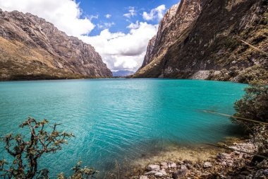 Mountains and lakes in Huaraz