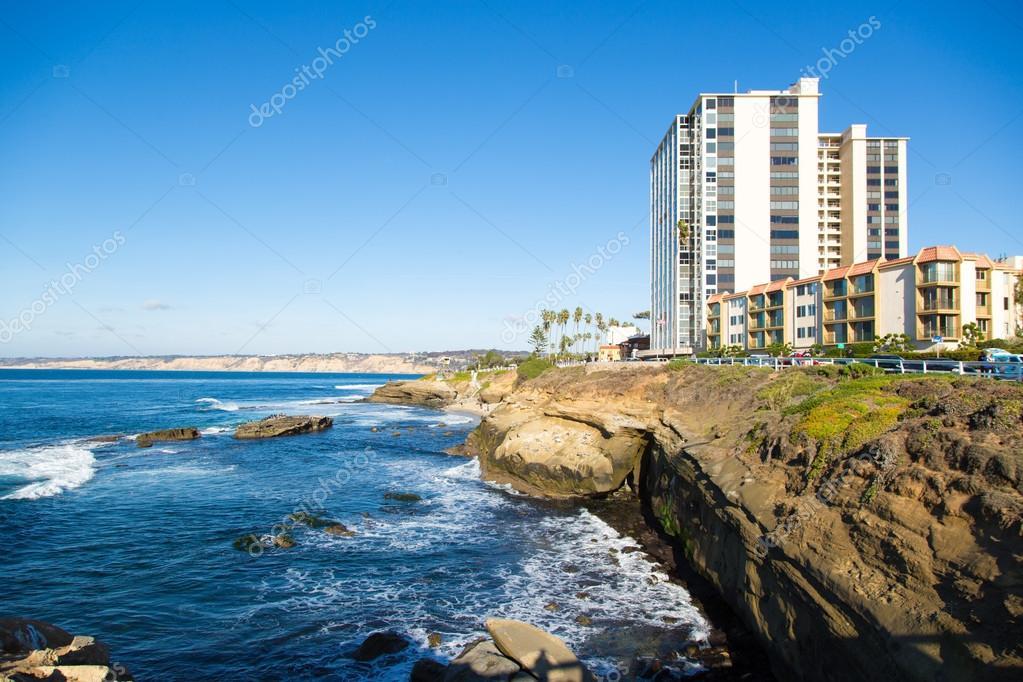 San Diego coast