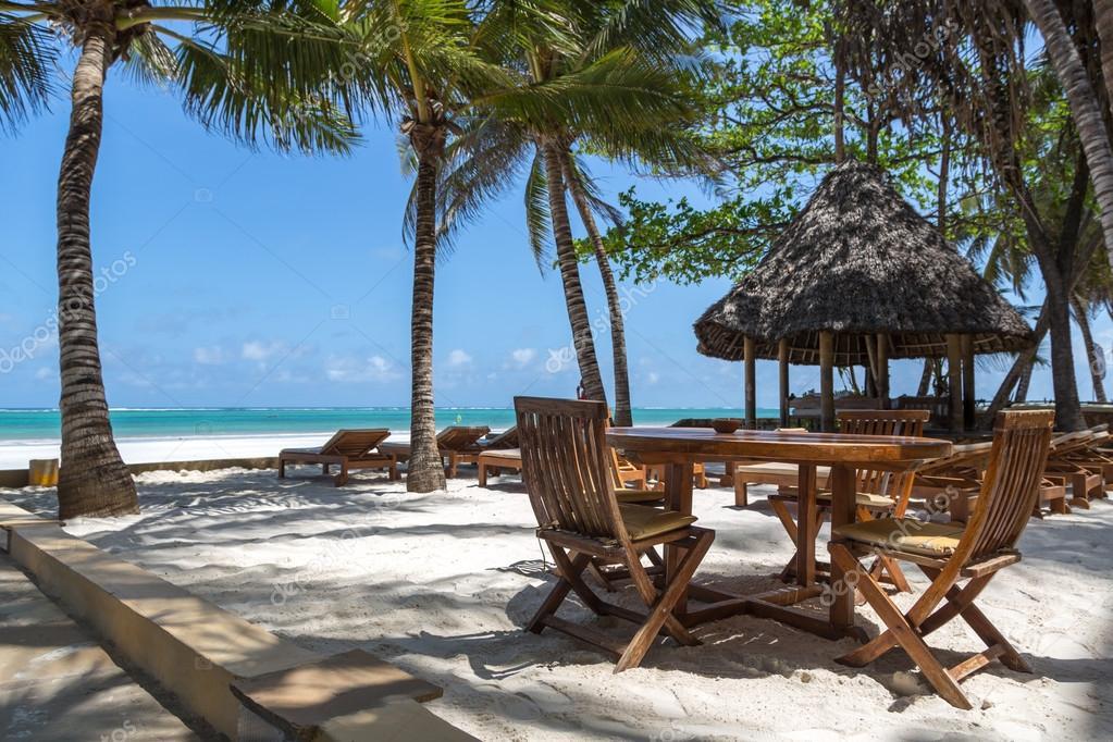 Beach front hotel in Diani Beach