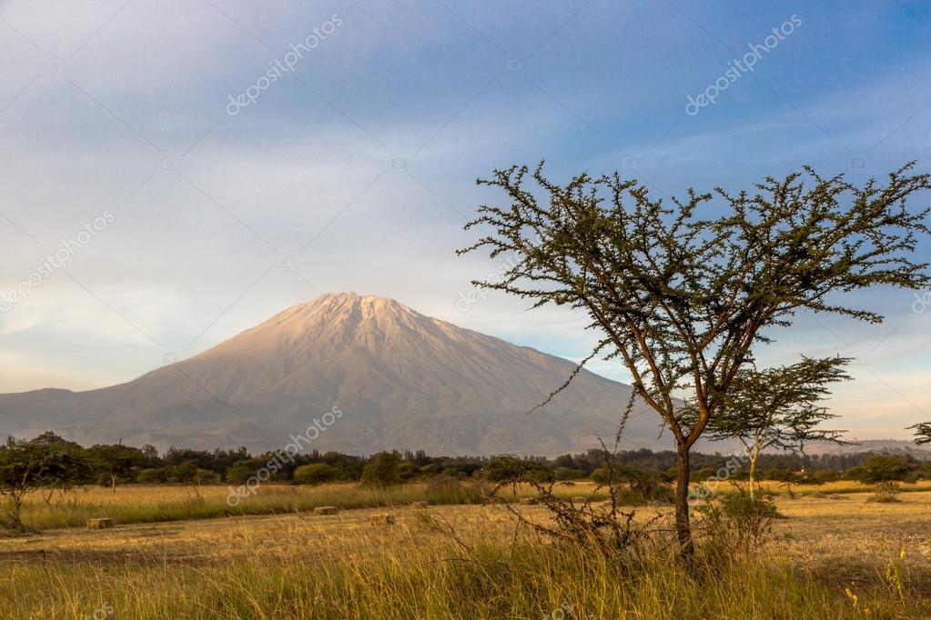 Beautiful view of Meru mountain