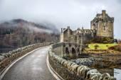 Krásná krajina vysočiny ve Skotsku