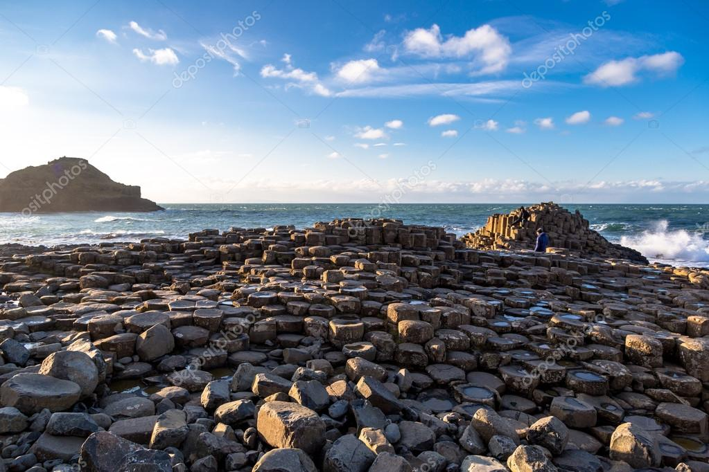 Heritage Giants of Causeway in North Ireland