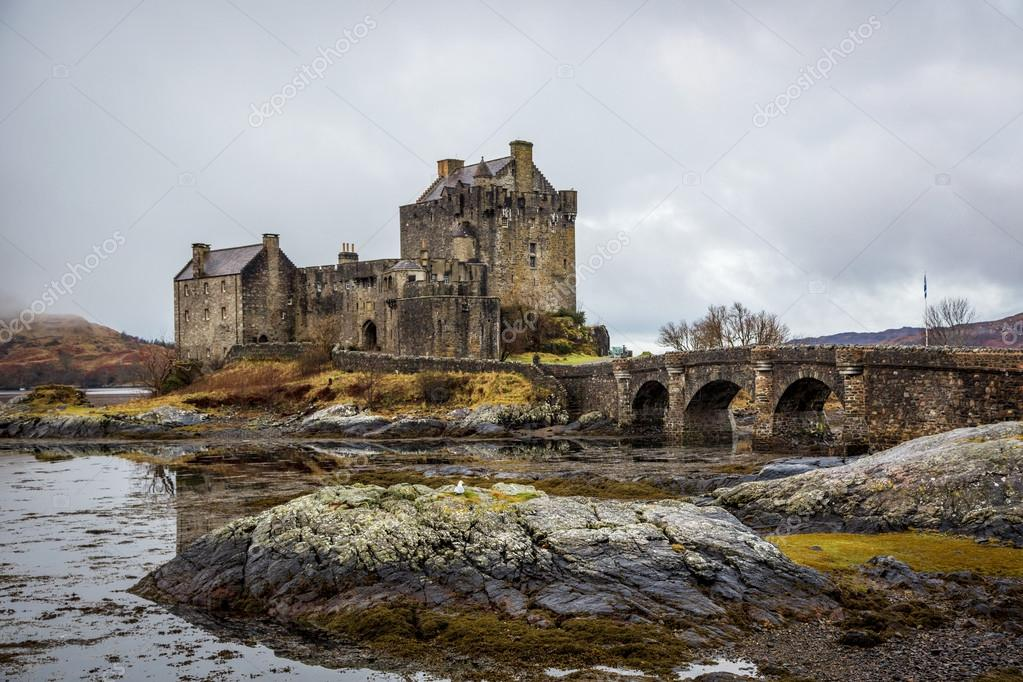 Beautiful landscape in Highlands in Scotland