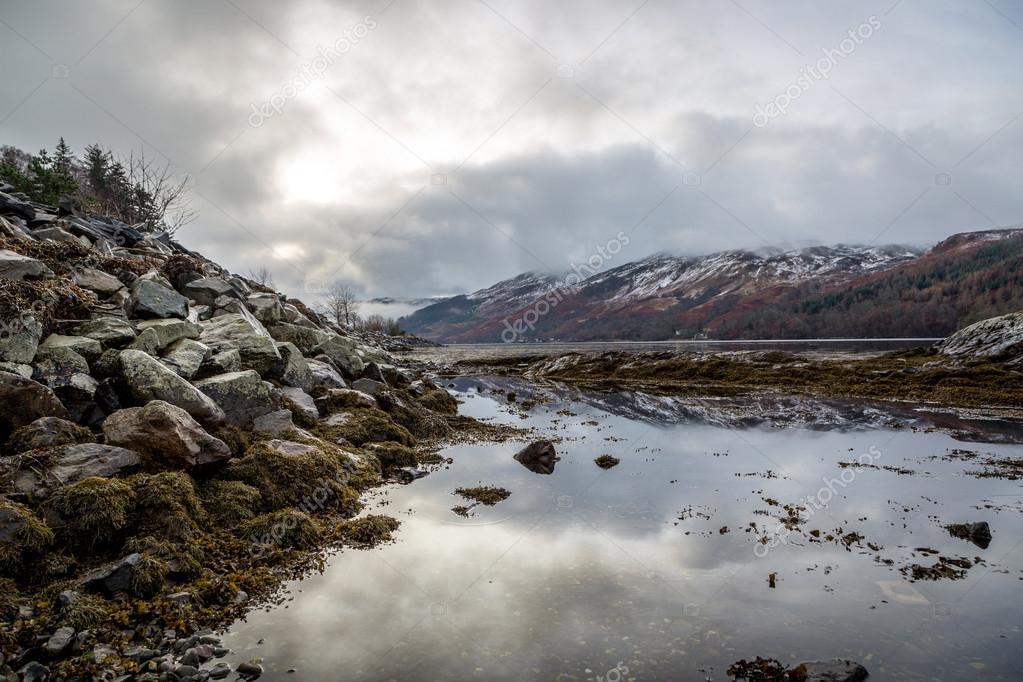Highlands landscape in Scotland