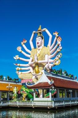 Buddhist temple in Koh Samui