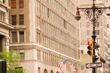 Typical New York street