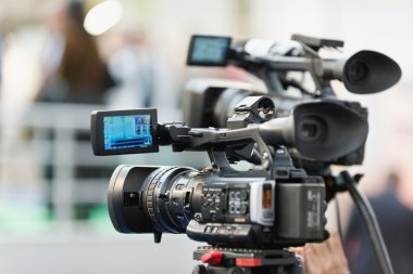 television camera on conference