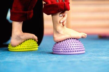 Flat feet correction exercise.