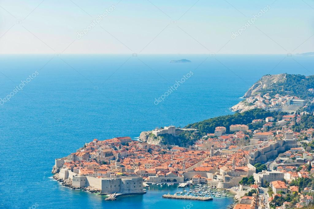 Town of Dubrovnik in Croatia