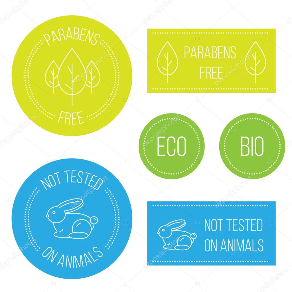 Not tested animals, free paraben