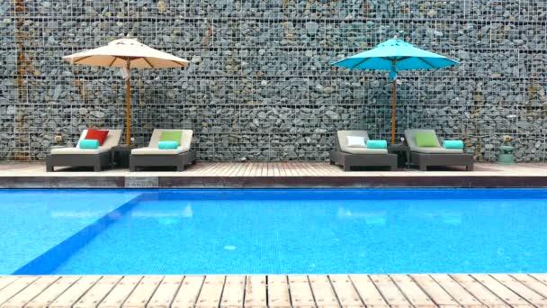 swimming pool in hotel