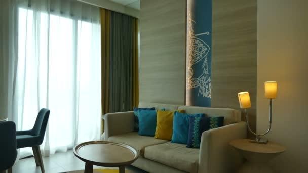Dekorace v interiéru obývacího pokoje